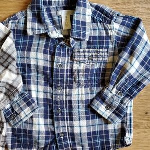 jumping beans Shirts & Tops - 3T Flannel Bundle